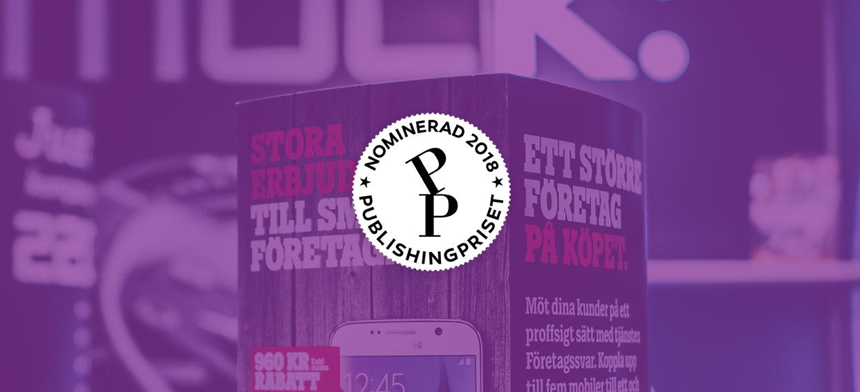 Arkitektkopias nya webb har blivit nominerad i Svenska Publishingpriset