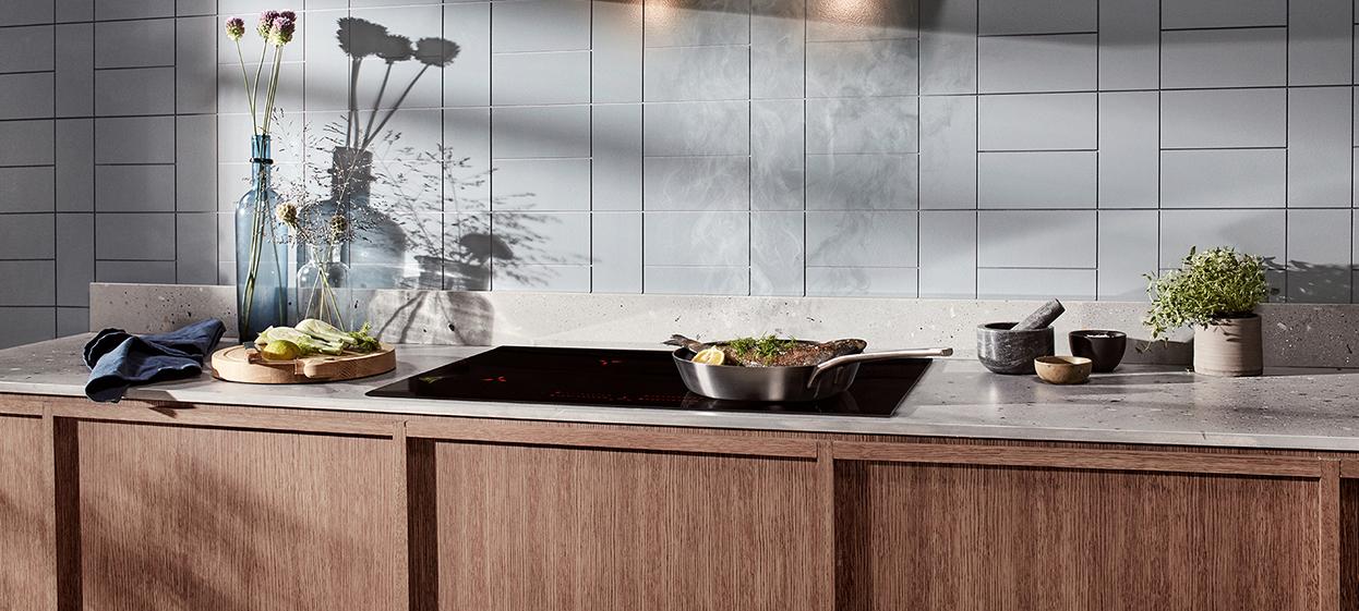 Ett kök med vitvaror från Electrolux