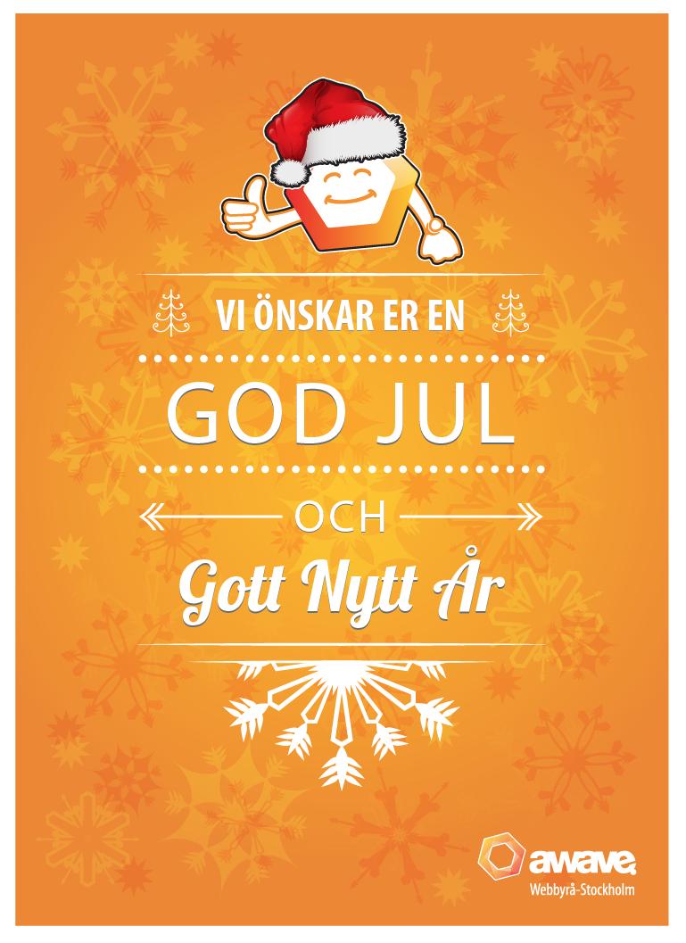 Awave önskar en god jul