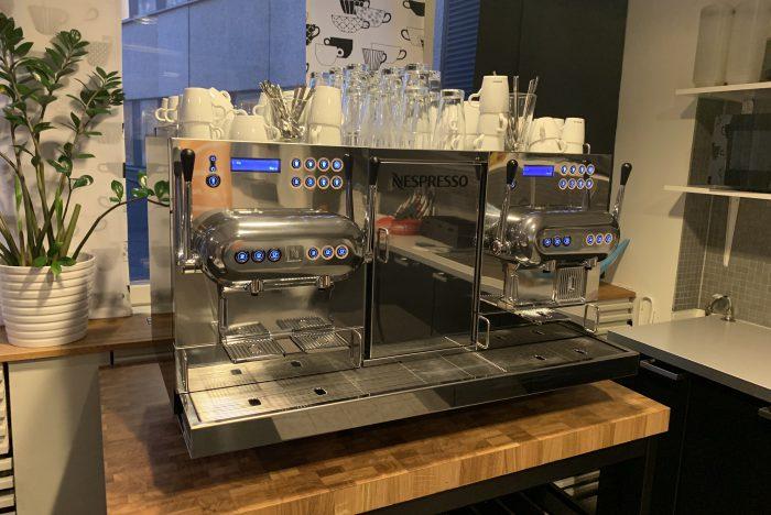 En espresso maskin