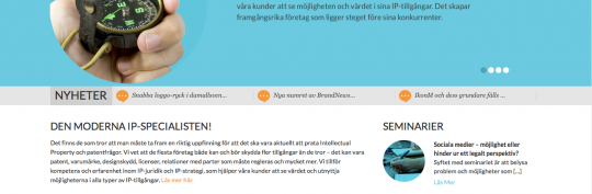 IPQ:s nya hemsida