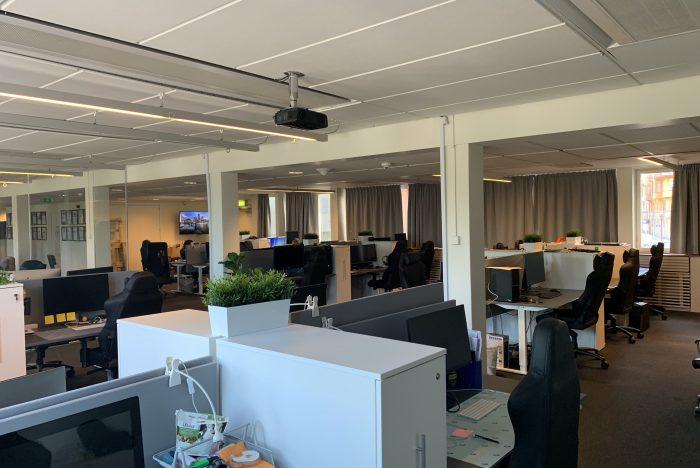 Awaves kontor i Stockholm