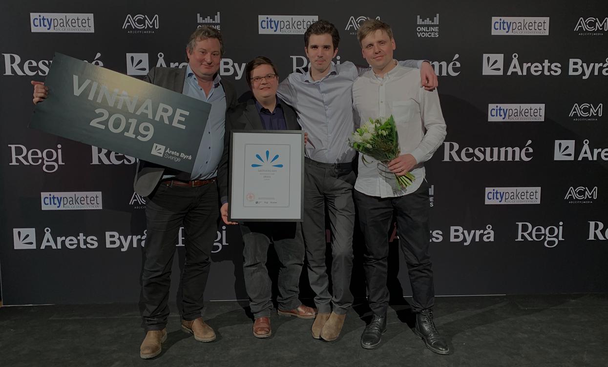 Awave vann årets byrå 2019