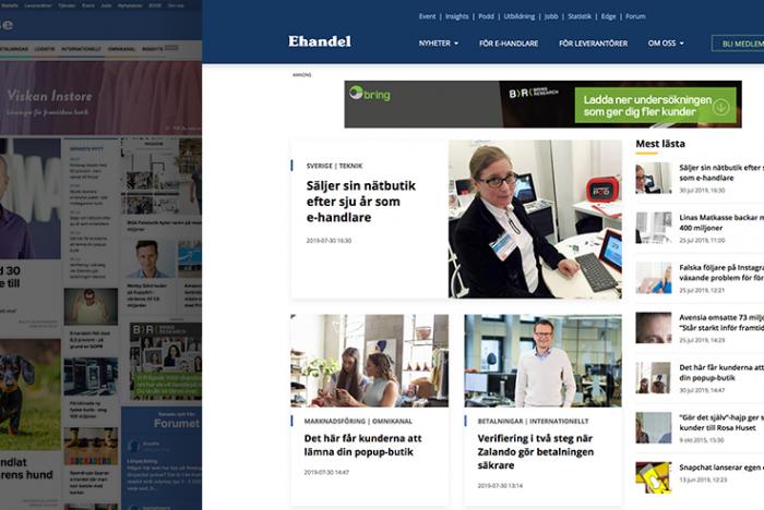 E-handel.se hemsida