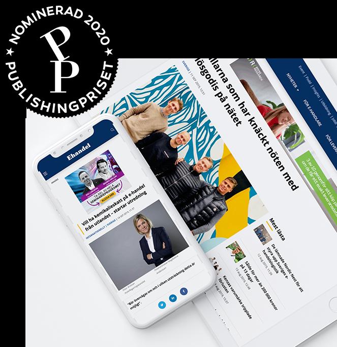 Ehandel.se är nominerad i Publishingpriset 2020