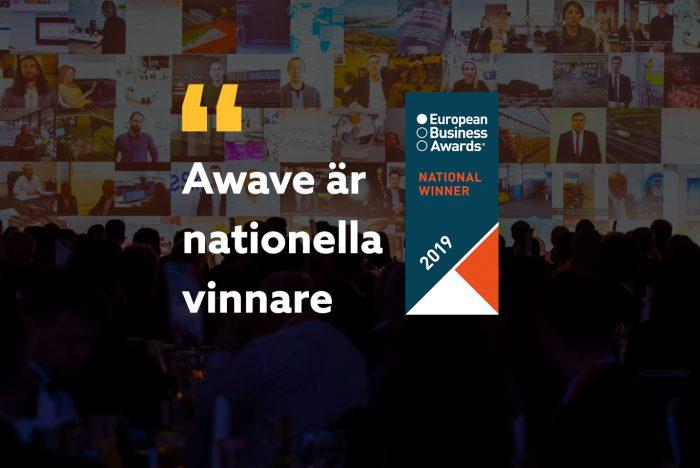 Awave är nationella vinnare