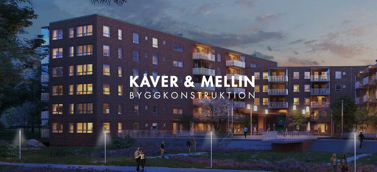 Kåver och Mellins logotyp