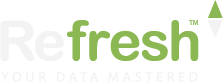 Refresh logotyp