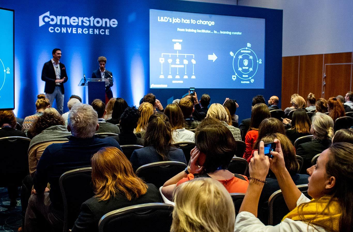 Cornerstone konferens.