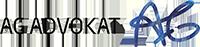 AG Advokat logotyp. En advokatbyrå.
