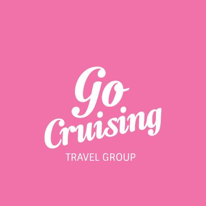 Go cruising rosa logotyp.