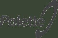 Palette logotyp. Fakturahantering.