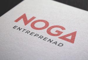 Noga Entreprenads nya logotyp