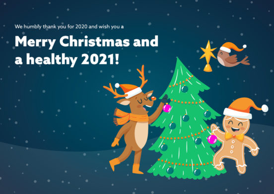 Merry Christmas and a healthy 2021