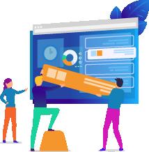 webbplats och utveckling